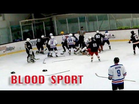Legion -  Кабаны.  2:3 Кровавый спорт. Gopro Hockey. арена Бобры