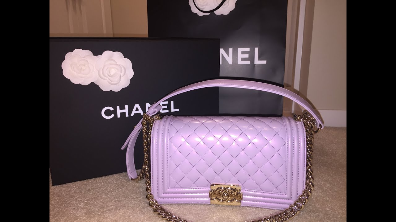 028d184af59782 Chanel Haul: Unboxing Medium LeBoy Purse 2016 + Rant - YouTube