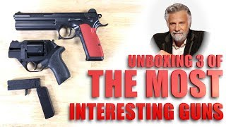 Unboxing 3 of the MOST INTERESTING GUNS... in the WORLD!