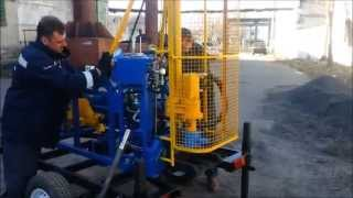 Буровая установка малогабаритная, производства Геомаш (Украина).(Малогабаритная буровая установка может комплектоваться колесной базой. Установка буровая гидроприводная..., 2014-06-17T05:27:05.000Z)