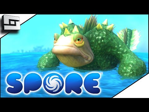 SEA MONSTER?! Spore Gameplay E5