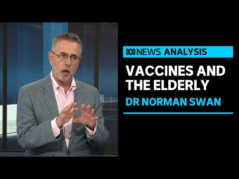 Dr Norman Swan discusses Germany's concerns around the AstraZeneca vaccine in the elderly | ABC News