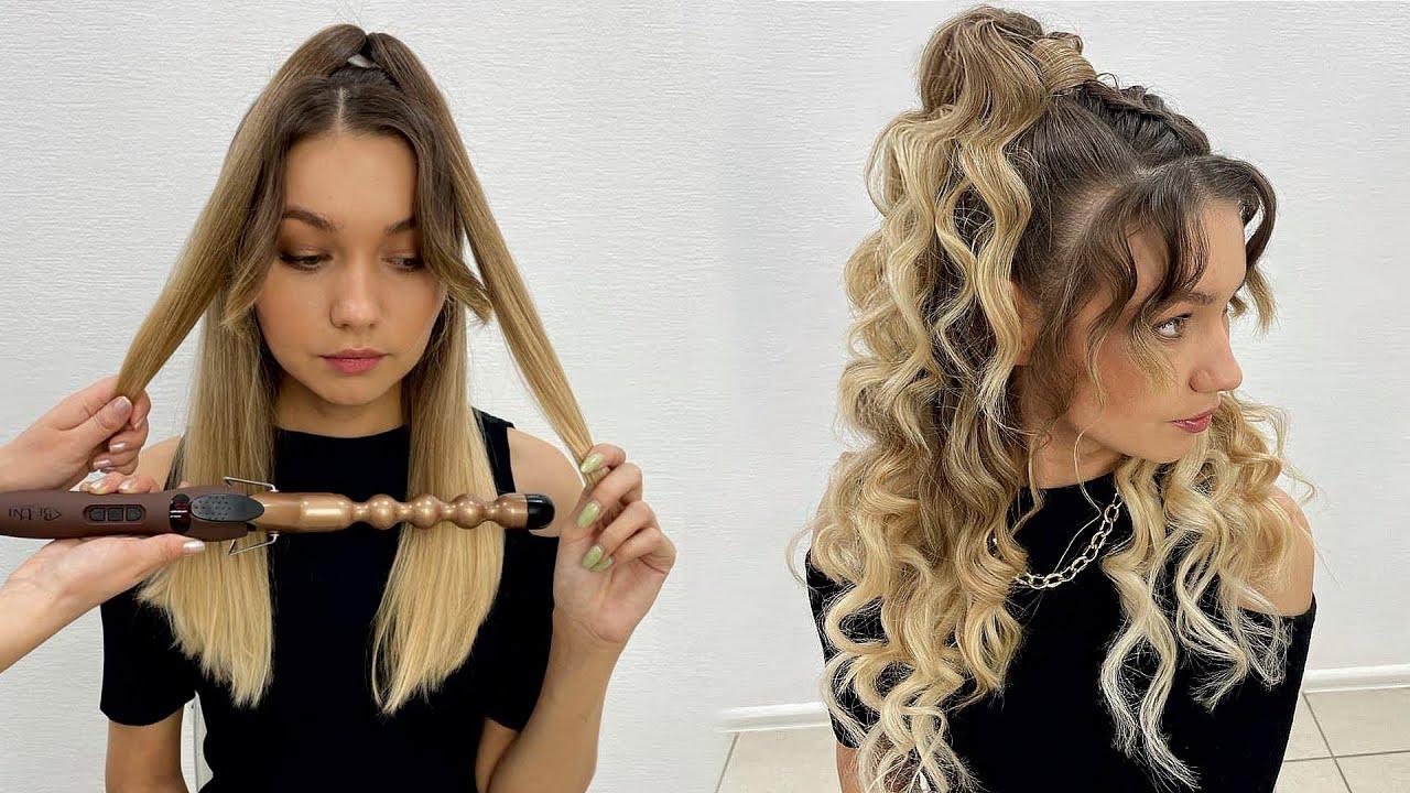 Кудри на длинные волосы. Обзор плойки Be Uni Buble