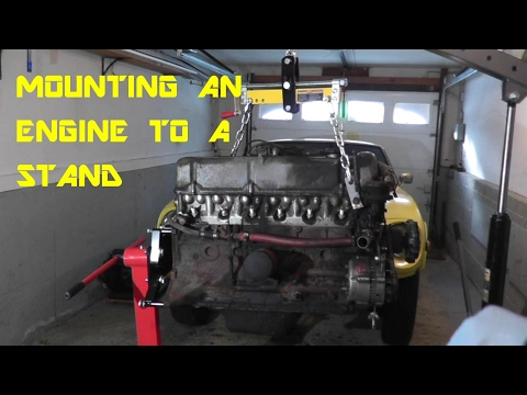 How to Mount an Engine to an Engine Stand