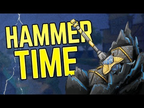 NEW HAMMER WEAPON in Realm Royale!