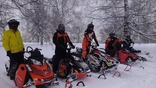 Экшн видео от экстрим клуба Ультиматум Школа горного вождения снегохода Без тормозооф Декабрь 2015