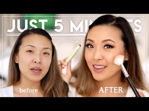 "FAST 5-MIN ""MOM"" MAKEUP TUTORIAL 