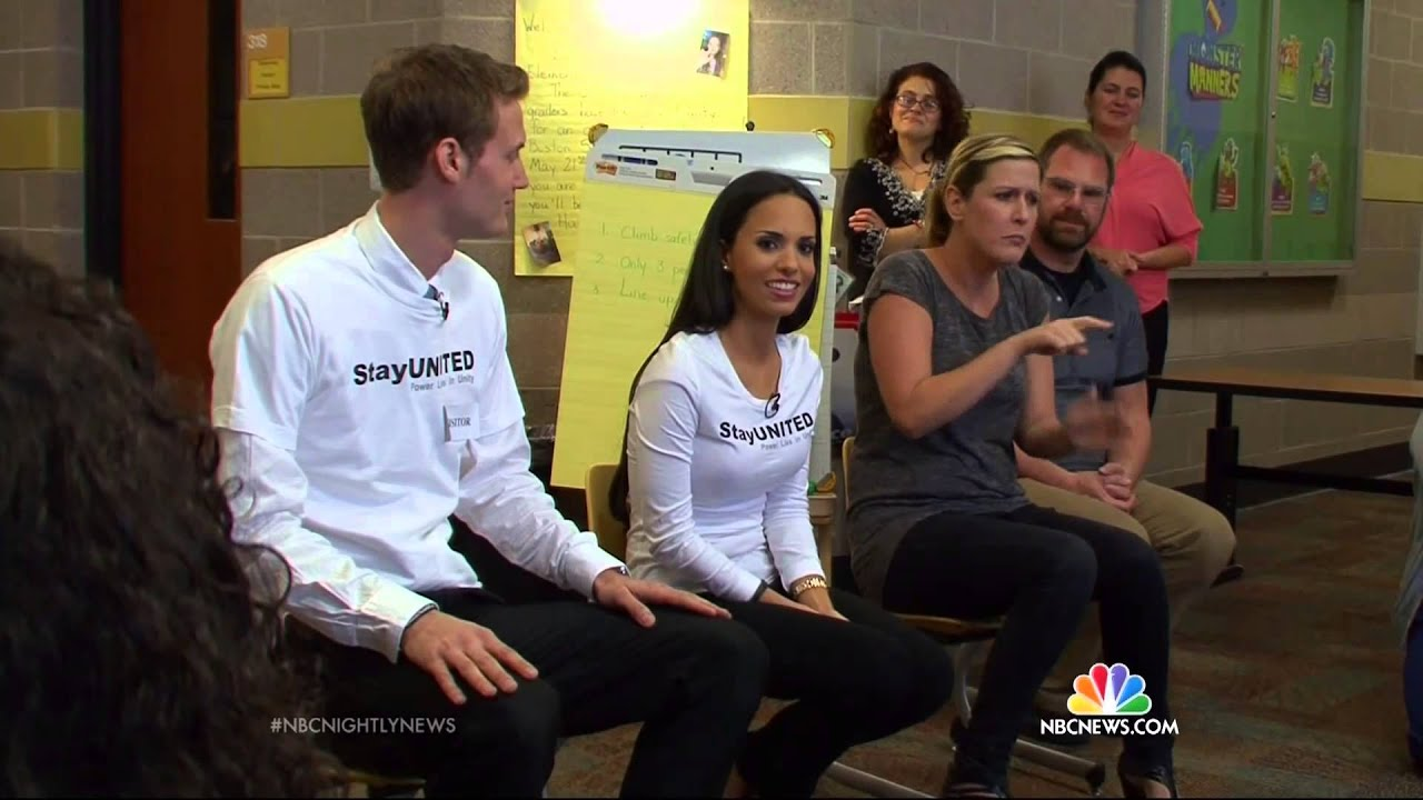 Mark & Ismini Svensson: Inspiring Kindness on NBC Nightly News