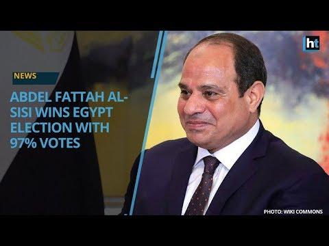 Abdel Fattah al-Sisi wins Egypt presidential election with 97% votes