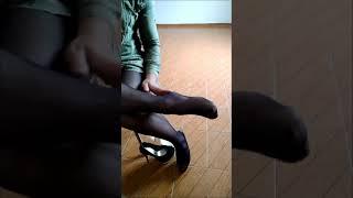 Dessa Feet High Heels and Pantyhose