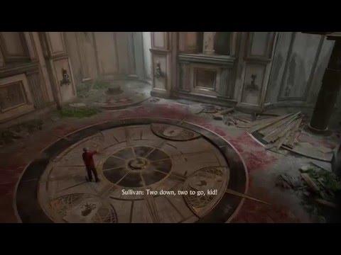 Uncharted 4: A Thief's End - Chap 11: Ring 4 Bells Clock Tower Puzzle Aquarius, Taurus, Scorpio, Leo
