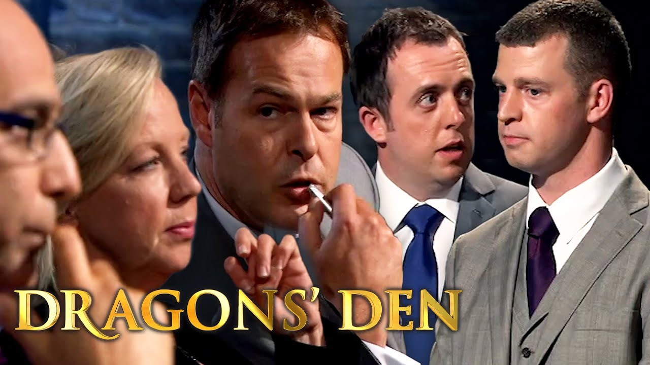 Security Guards Overloaded With a Full House of Offers   Dragons' Den
