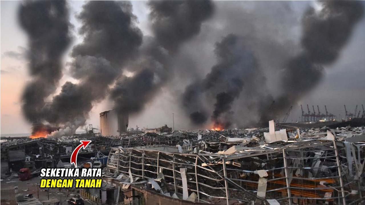 BOOMM ! Ledakan Dahsyat Ratakan Kota Beirut, Lebanon, Peristiwa² Ledakan Terdahsyat Di Dunia
