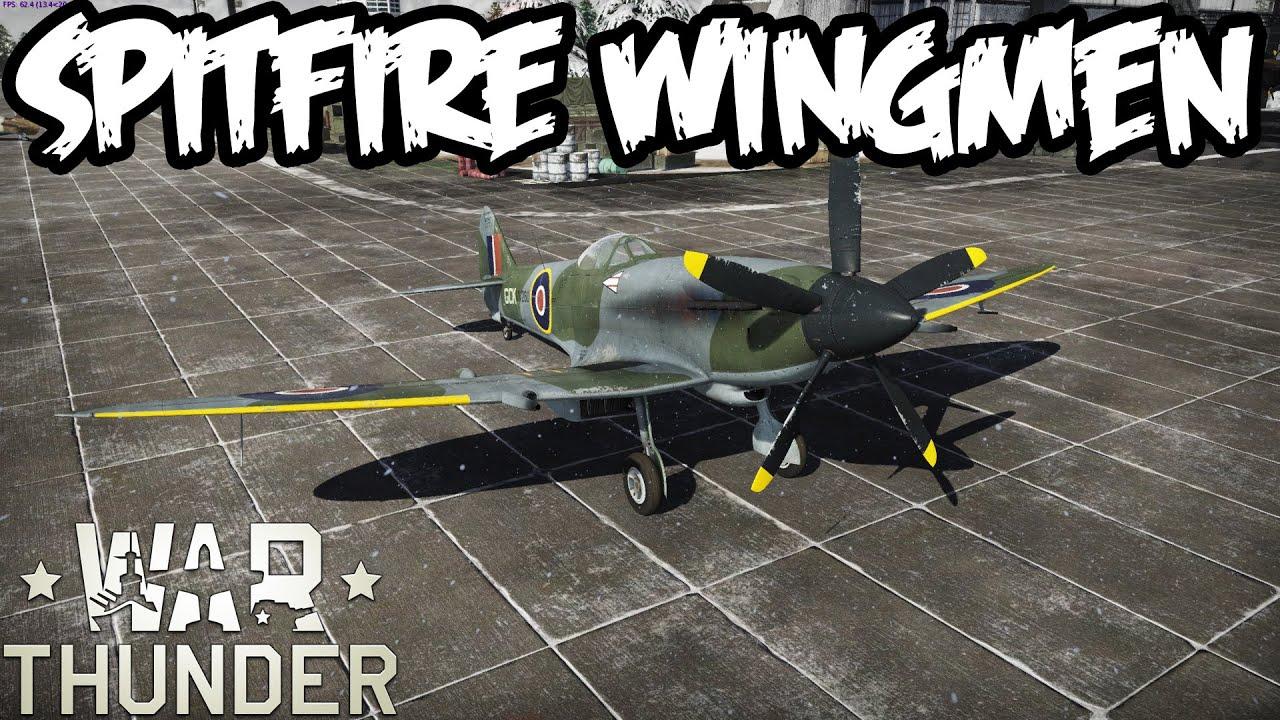 War thunder gameplay spitfire aircraft