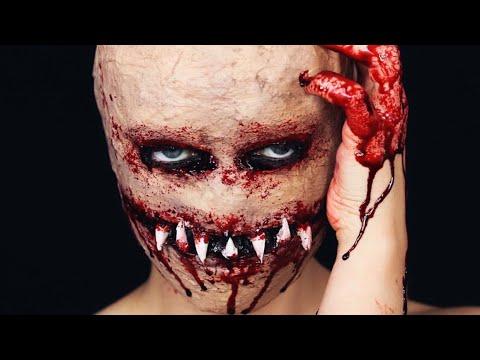 Flesh Monster Halloween Tutorial (by karolinagriciute)