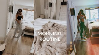 quarantine productive morning routine