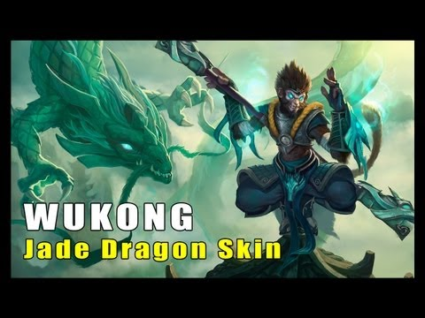 Jade Dragon Wukong Skin (League of Legends)