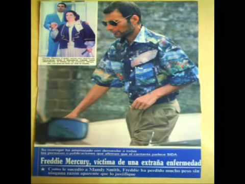 Freddie Mercury En Sus Ultimos Años (Parte 2)/Freddie Mercury In The Last Years (Part 2)