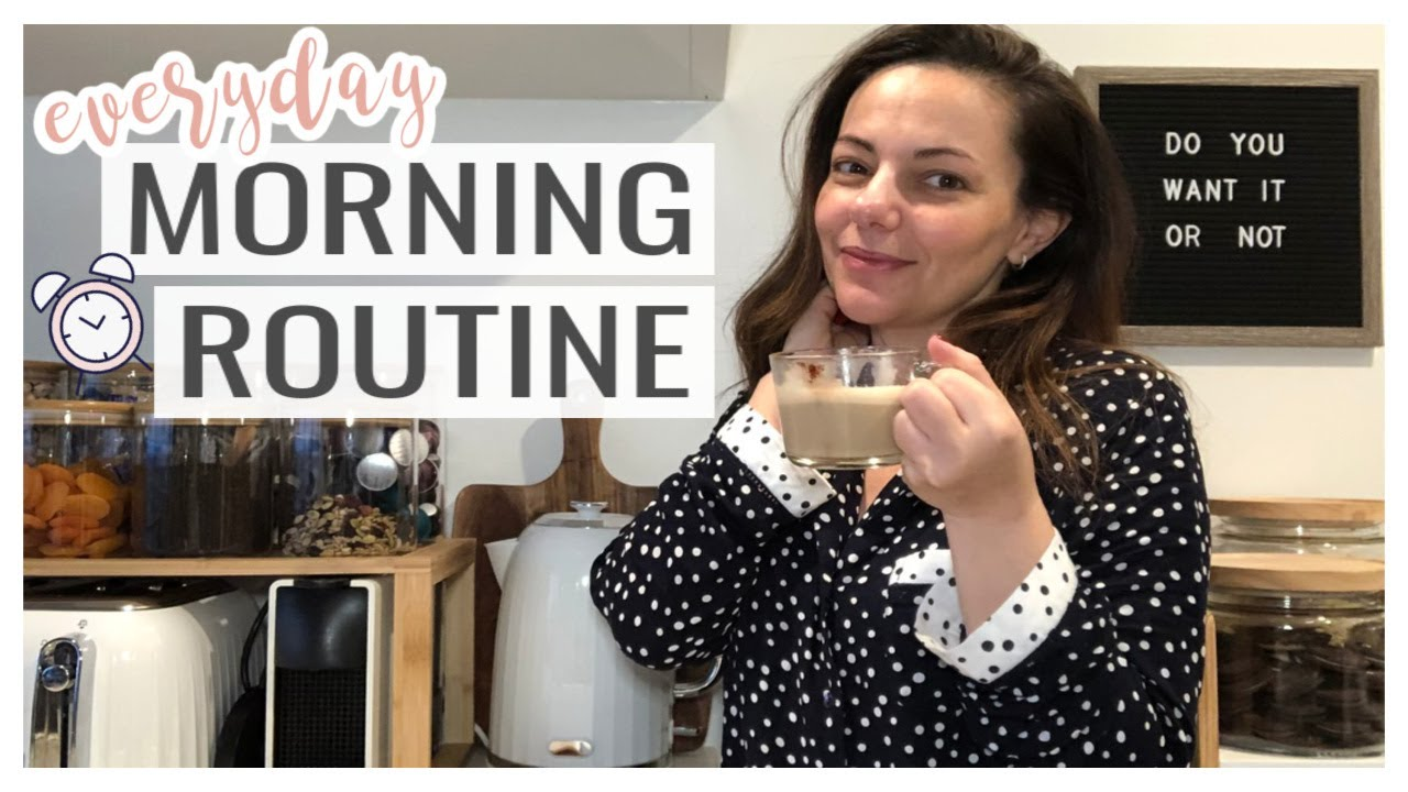 MORNING ROUTINE - SMART & PRODUCTIVE || THE SUNDAY STYLIST