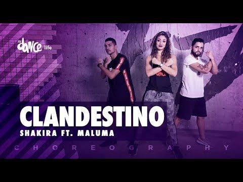 Clandestino - Shakira ft. Maluma | FitDance Life (Coreografía) Dance Video