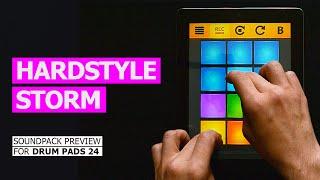 drum pads 24 hardstyle storm