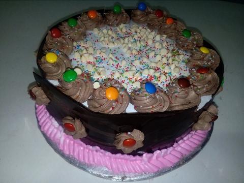 Chocolate Pineapple Black Forest Cake (King Chef Shahid Jutt)