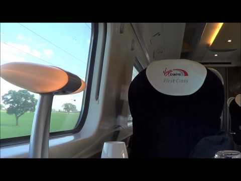 Virgin Trains First Class | Weekday Service | Late 2014