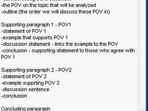 Ielts how to write a discussion essay outline part 2 of 2 youtube