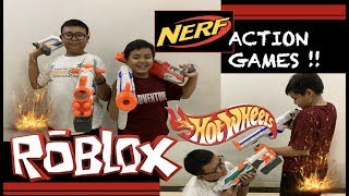 The NERF War! Rebutant ROBLOX and HOTWHEELS, but eventually even ' WORSE ' like this.... (NERF WAR!)