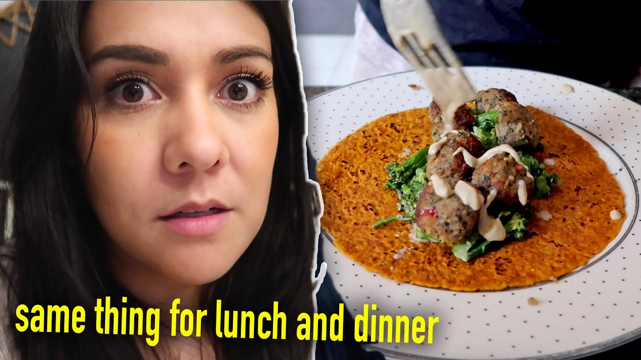WHAT I ATE IN A DAY... when I'm busy af  (plant based 🌱)