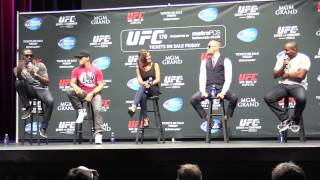 Jon Jones & Daniel Cormier Verbal Sparring (UFC 178 Q&A Media Day- LA)