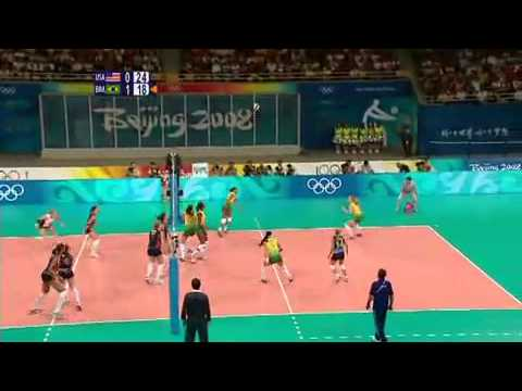 Brazil Win Womens Volleyball Gold