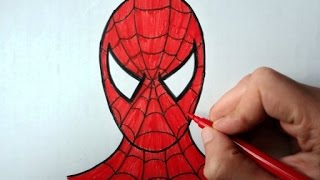 How to draw Spiderman (Ehedov Elnur) Как рисовать Человека паука-Como Dibujar a Spiderman(How to draw Spiderman (Ehedov Elnur) Как рисовать Человека паука_Orumcek adam ____cómo dibujar spiderman_如何繪製蜘蛛俠_Wie zeichnet man ..., 2016-04-01T15:01:55.000Z)