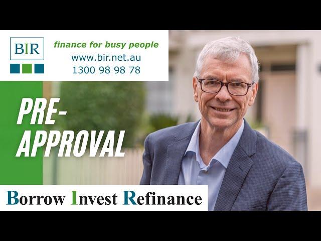 Pre Approval | BIR Solutions