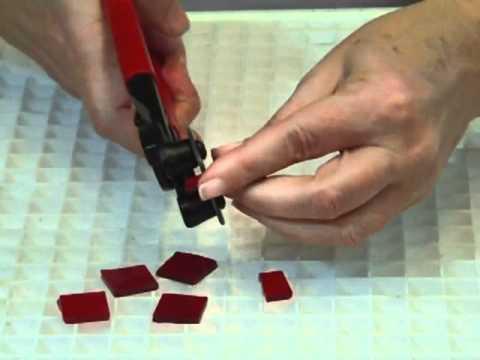 mosaics how to use a wheeled nipper