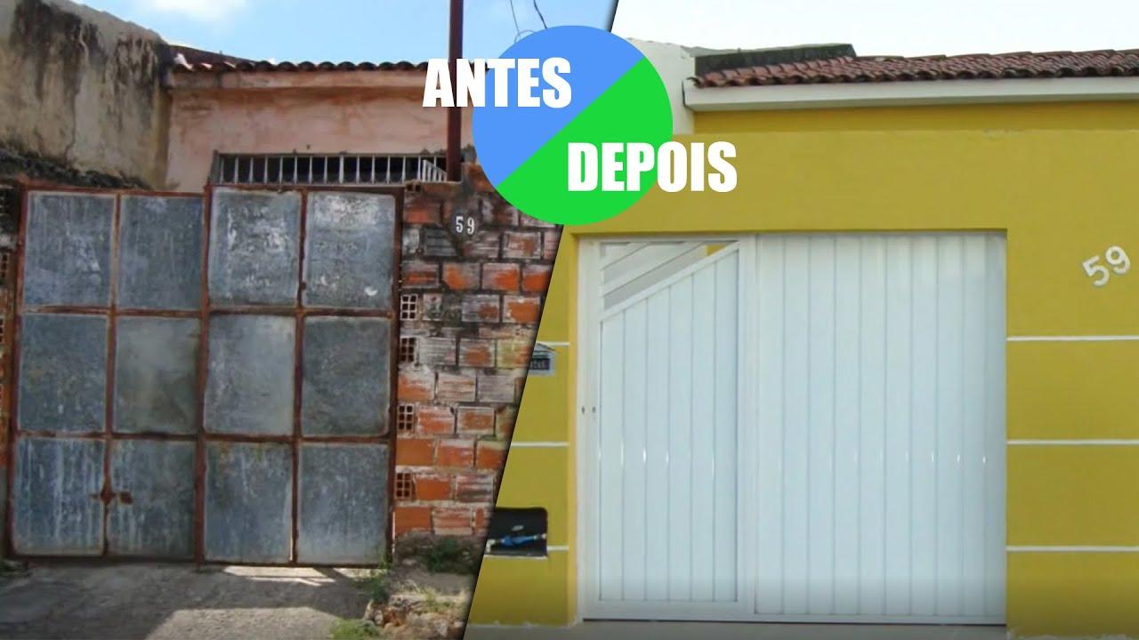 Tour pela casa antes e depois da reforma youtube - Reformas casas pequenas ...