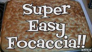 Super Easy Focaccia Recipe!! Noreen&#39s Kitchen