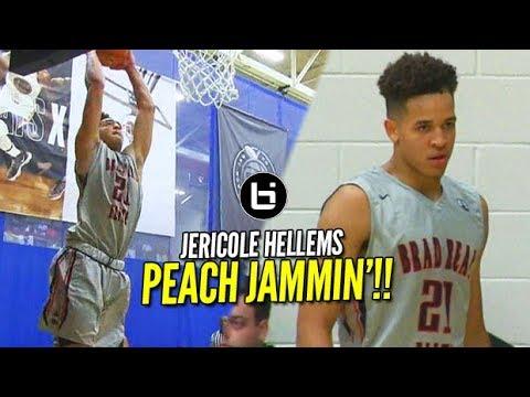 From Mid Major to High Major Status!! Jericole Hellems Nike Peach Jam Highlights!