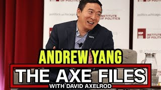 Andrew Yang on the Axe Files w/ David Axelrod | Full Q&A December 5th 2019