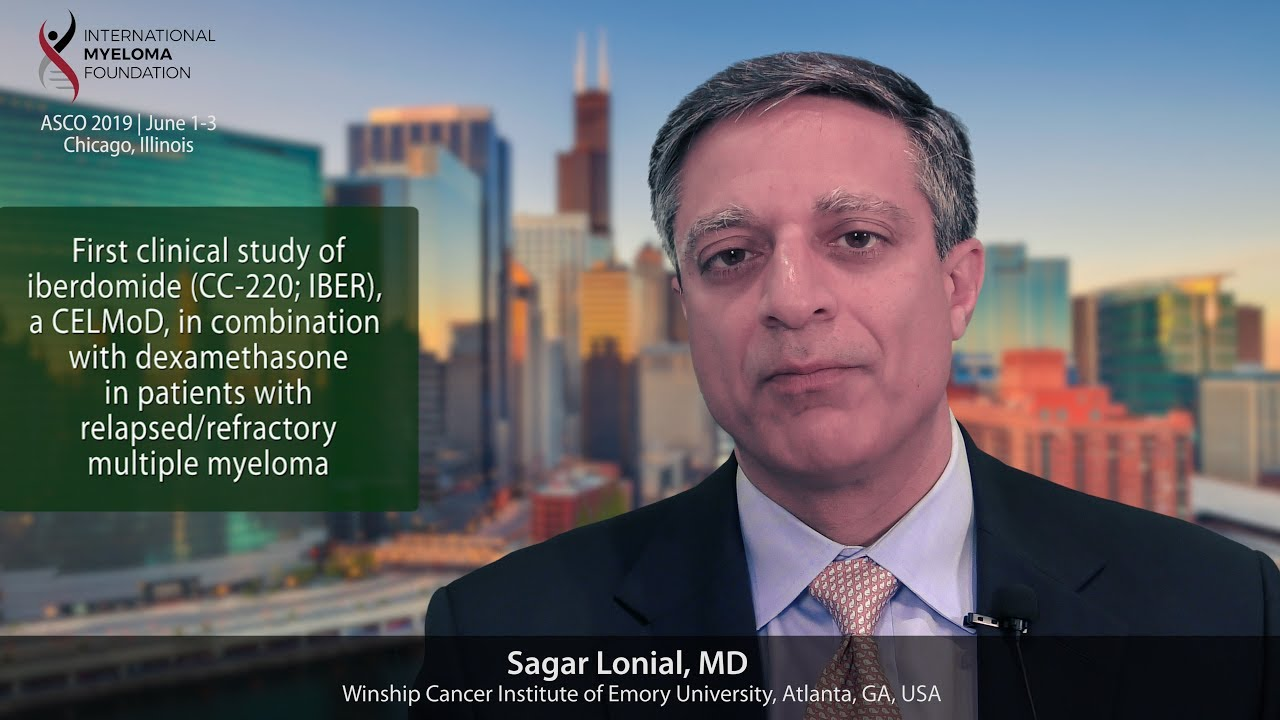 ASCO 2019 Clinical Study of Iberdomide | Int'l Myeloma Fndn