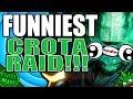 HILARIOUS Crota Raid Team! (Destiny Funny Gameplay)