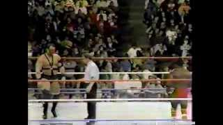 Demolition Ax & Smash vs. Sonny Rogers & Gary Jackson