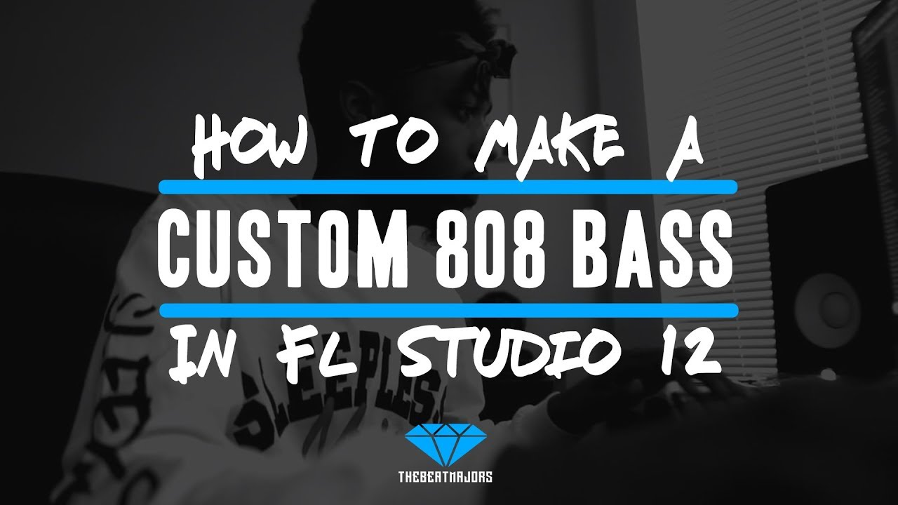 How To Make An 808 Bass In FL Studio 12 | (@TheBeatMajors)