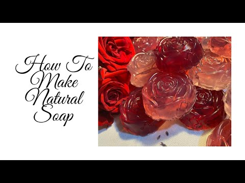HOW TO MAKE SOAP WITH ESSENTIAL OILS