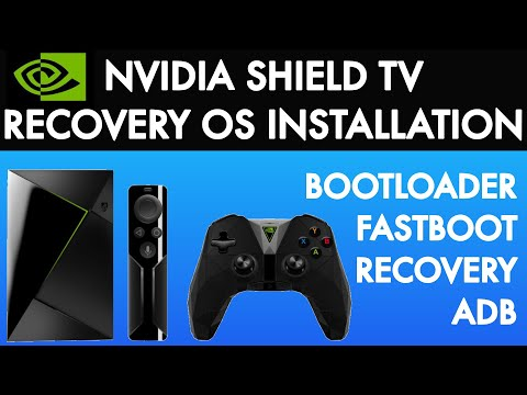 Recovery OS Nvidia Shield TV Installation