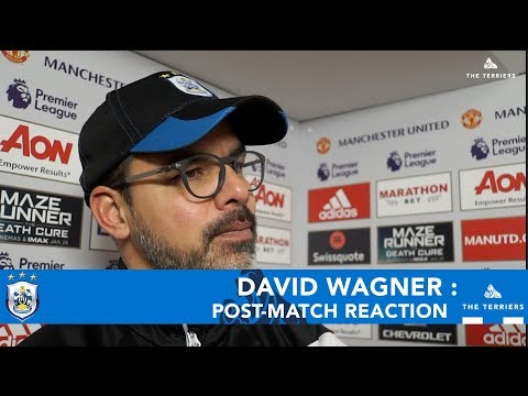WATCH: David Wagner reflects on defeat to Manchester United