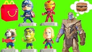 McDonald's Avengers Endgame Happy Meal Toys 2019 Set of 10