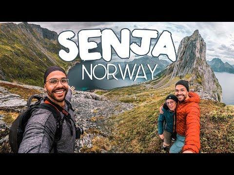 MT SEGLA HIKE | How to travel Senja, Norway Pt.1