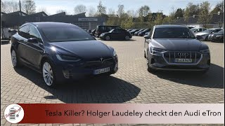 Tesla Killer? Laudeley checkt den Audi eTron
