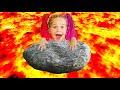 Пол это лава the floor is lava Сборник смешных историй с Надей